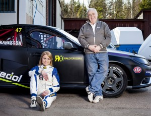 Ramona signs as first female in World RX