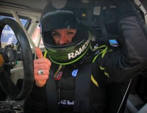 Ramona shows impressive pace in Germany Estering in EuroRX Championship