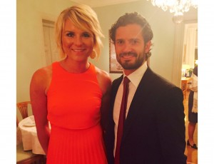 Dinner with Prince Carl Philip and lecture with VW