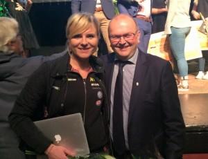 (Svenska) Ramona föreläste för unga entrepenörer
