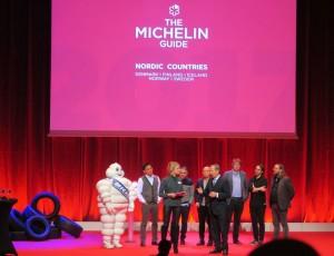 Ramona delade ut stjärnor i Michelin guide
